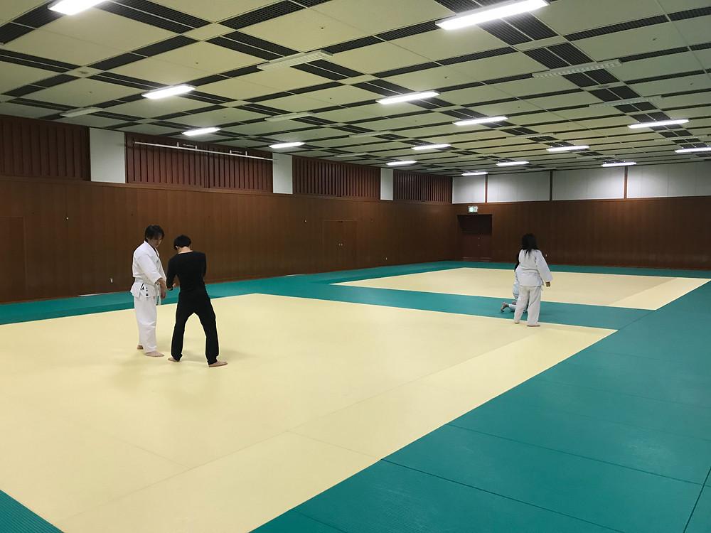 八尾道場での練習