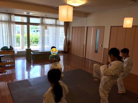 6月16日香芝こども教室~前周り受け身を練習しました~
