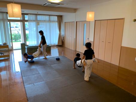 9月1日香芝こども教室~刀を学びました~