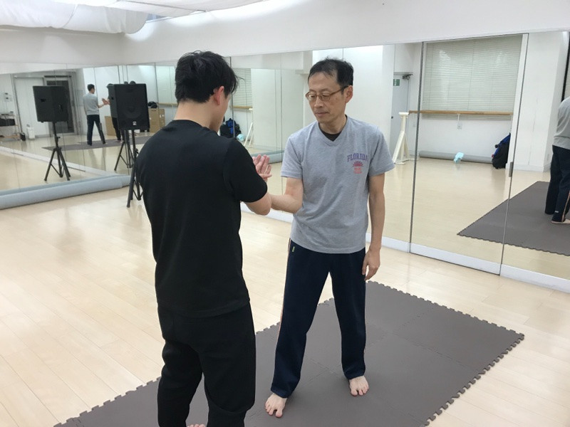 大阪難波教室の初練習