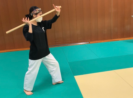 4月5日八尾教室~杖を通して体の使い方を練習する~