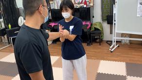 10月15日天王寺教室〜自分の真正面で技を掛ける〜