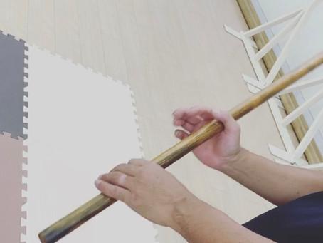 8月17日難波教室~手の内を使って杖を動かす~