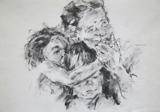 Singaporean Artist Printmaker Zhang Fuming Drawing
