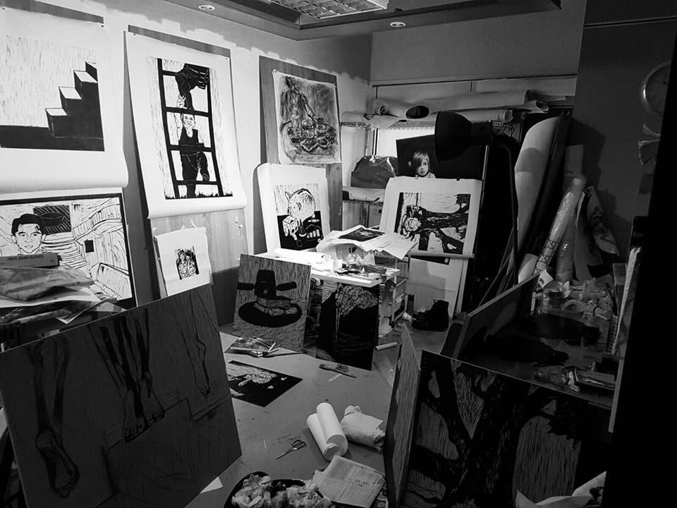 Zhang Fuming's Studio, December 2016