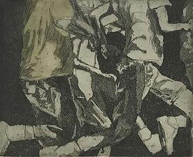 Zhang Fuming Etching Print