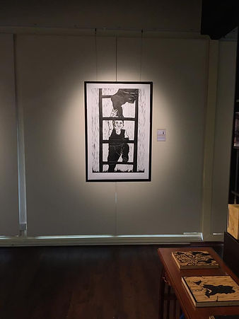 Zhang Fuming Solo Printmaking Exhibition, Poise For Success.