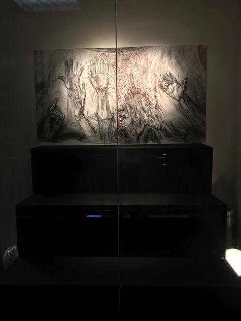 Zhang Fuming Printmaking Installation.