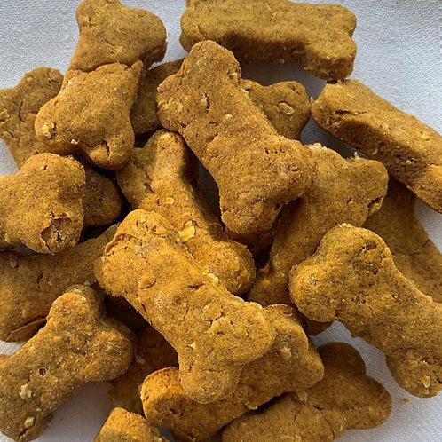 Pumpkin Peanut Butter Quick Oats Small Dog Treats