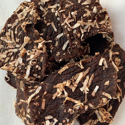 Coconut Spice Beef Jerky Strips
