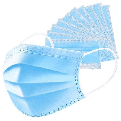 Mascarillas quirúrgicas 3 pliegues