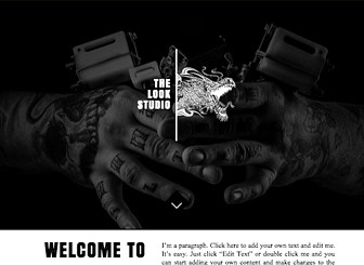 Tattoo Designs Website Template