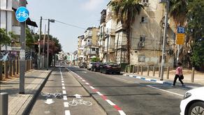 מחקר: שבילי אופניים דו סיטריים מסוכנים יותר משבילים חד סיטריים