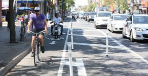 שביל אופניים חדש בטורונטו - קנדה תרם לפעילות הכלכלית באזור