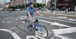 שבילי אופניים במקום חניות לרכבים בלונג איילנד
