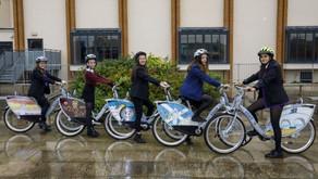 אופניים שיתופיים  גם בבתי ספר תיכוניים בסטירלינג אנגליה