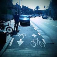רחוב מסילת ישרים - תל אביב