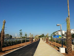 משכונת נווה עופר עד תחנת הרכבת בצומת וול
