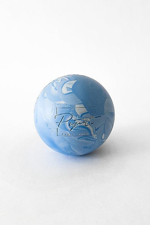Lacrosse Massage Ball - Blue swirl