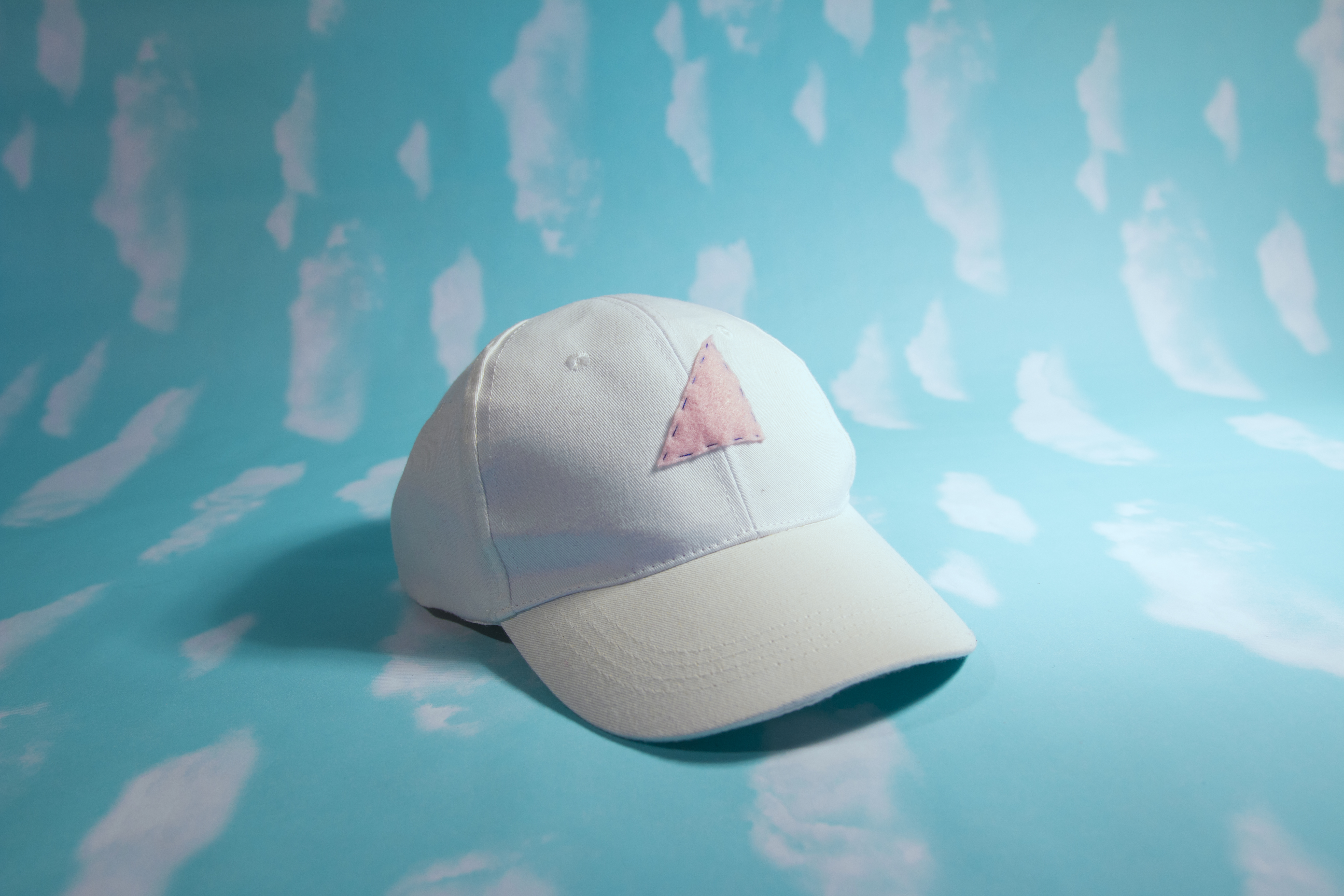 felt triangle hat