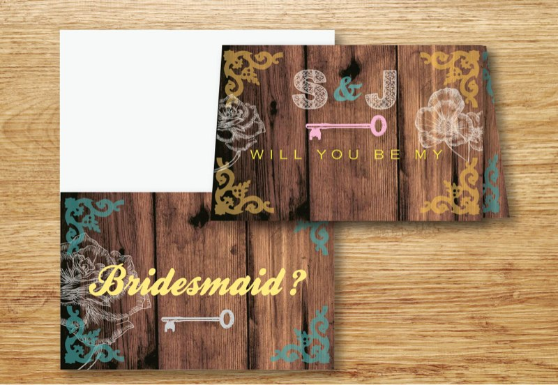 Bridal Folded Card