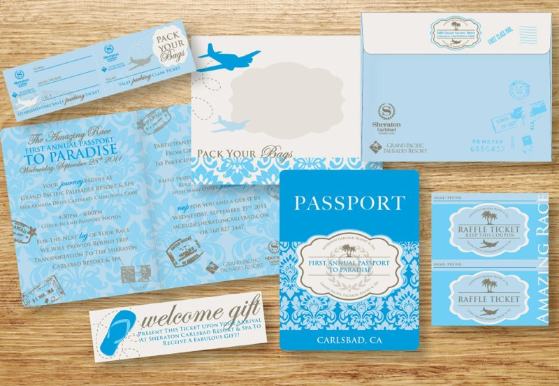 Passport To Paradise Cooperate Event