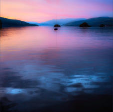 WINDERMERE SUNSET by Laura Drury