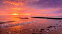 Shooting The Sunrise by John Draper