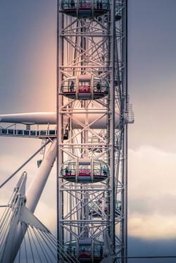 London eye by Douglas Samme