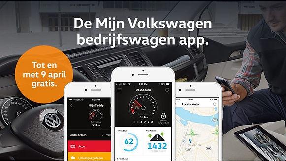 Volkswagen aanbieding Bedrijfswagen app