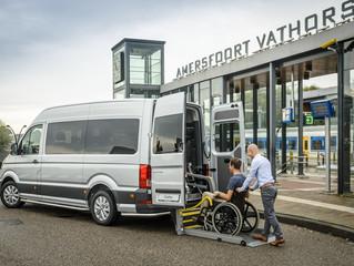 Volkswagen toont ultieme Crafter-rolstoelbus