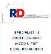Logo en promo RD bedrijfswagens