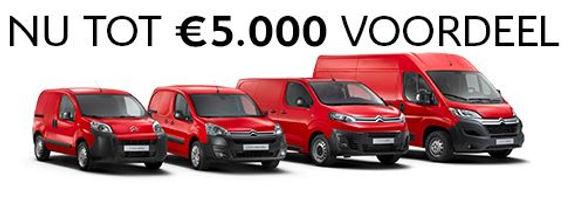aanbieding tot 5000 voordeel Citroen bedrijfswagens