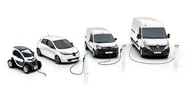 Alle Elektrische auto's van Renault