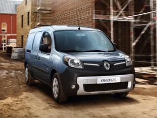 100% elektrische Renault Kangoo Z.E. krijgt meer dan 50% grotere actieradius