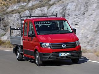 Nieuwe Volkswagen Crafter chassiscabine nu te bestellen