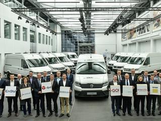 Volkswagen Bedrijfswagens start praktijktest met e-Crafter