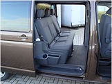 VW transporter met dubbele cabine