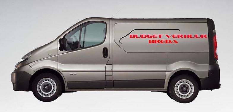 Verhuur bedrijfsbus van Budget rent