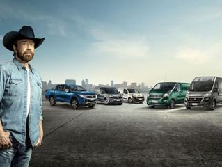 "De nieuwe internationale Fiat Professional pr-campagne met Chuck Norris ""When Fiat Professional call"