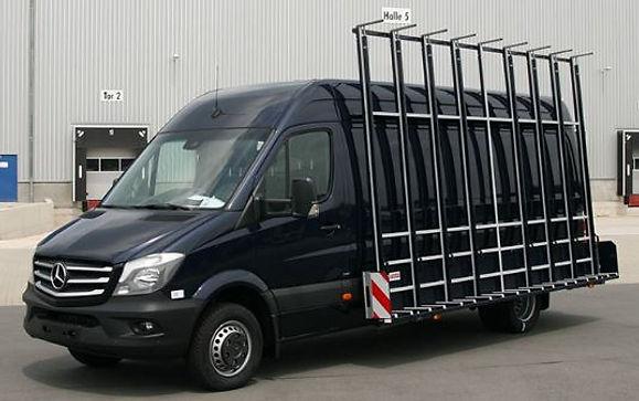 Mercedesbus met glas resteel