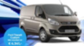 Aanbieding Ford Custom Transit