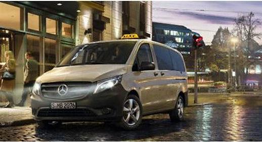 Aanbieding Mercedes Vito Taxi
