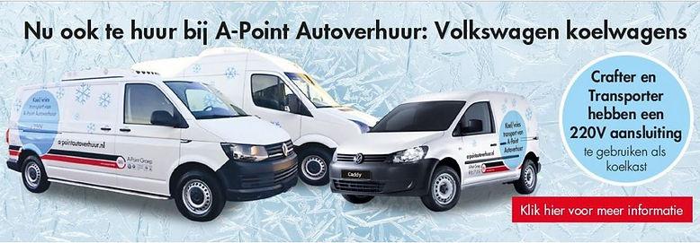VW bedrijfswagen verhuur van Apoint
