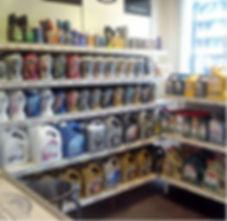 Foto winkel en assortiment