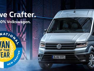 Volkswagen Bedrijfswagens start voorverkoop nieuwe Crafter