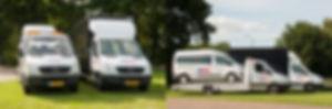bedrijfsauto's uit het huuraanbod