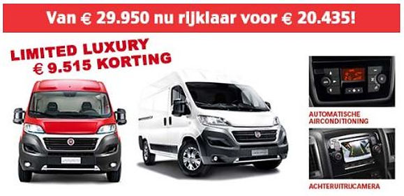 Fiat Limited Luxury korting