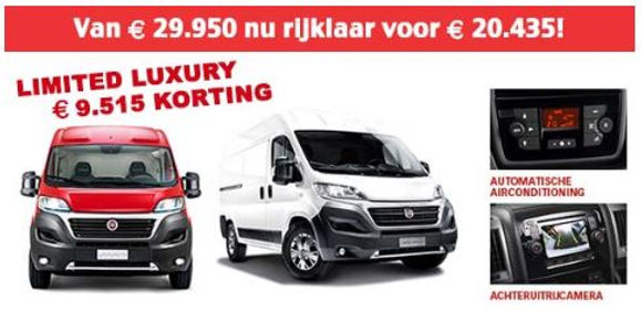 Fiat Limited Luxury korting