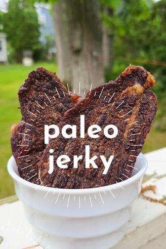 Smoky Paleo Jerky // Gluten-Free
